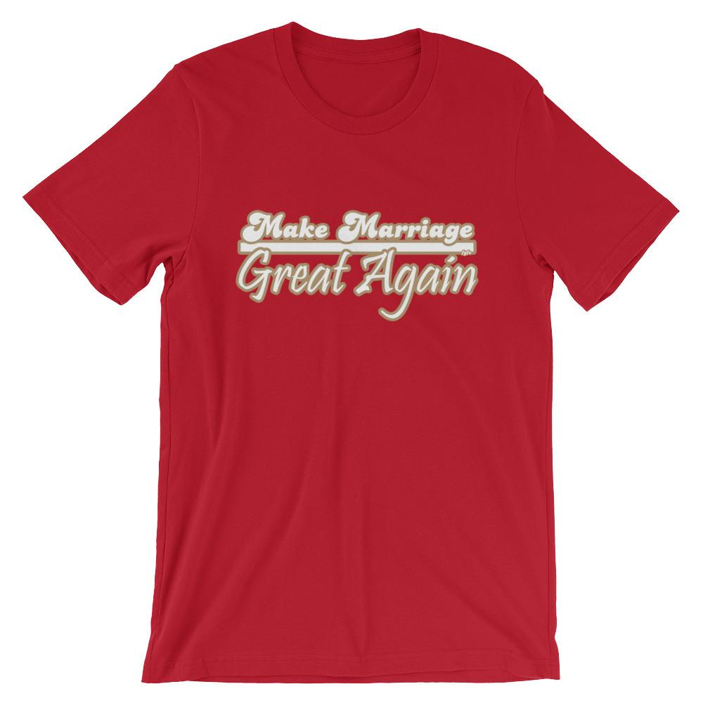 Make Marriage Great Again Red T-Shirt