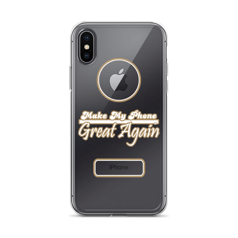 Make My Phone Great Again: iPhone X - XS Max Nude Case