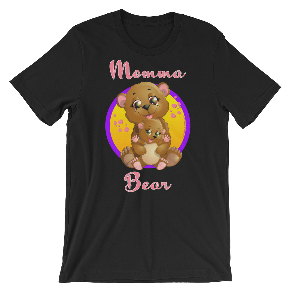 Momma Bear Graphic T-Shirt