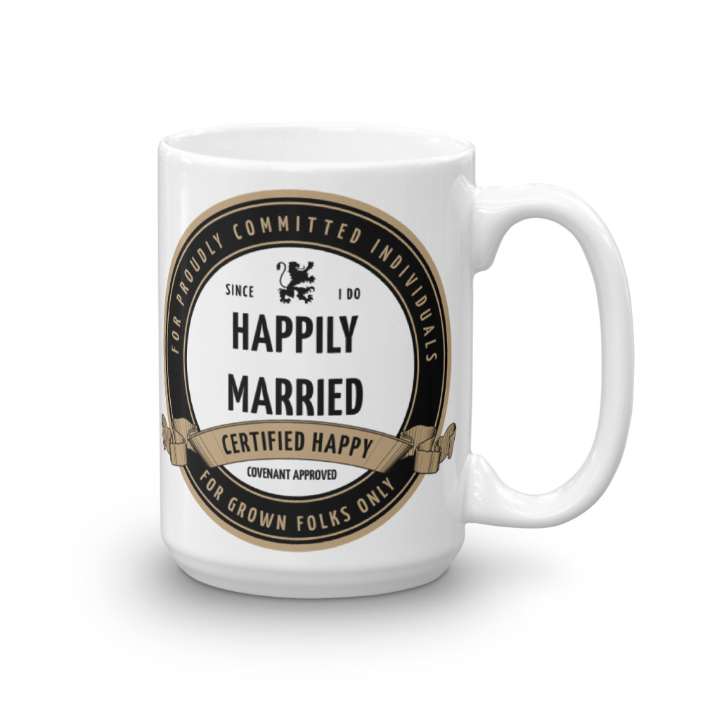 Certified Happily Married 15oz Mug