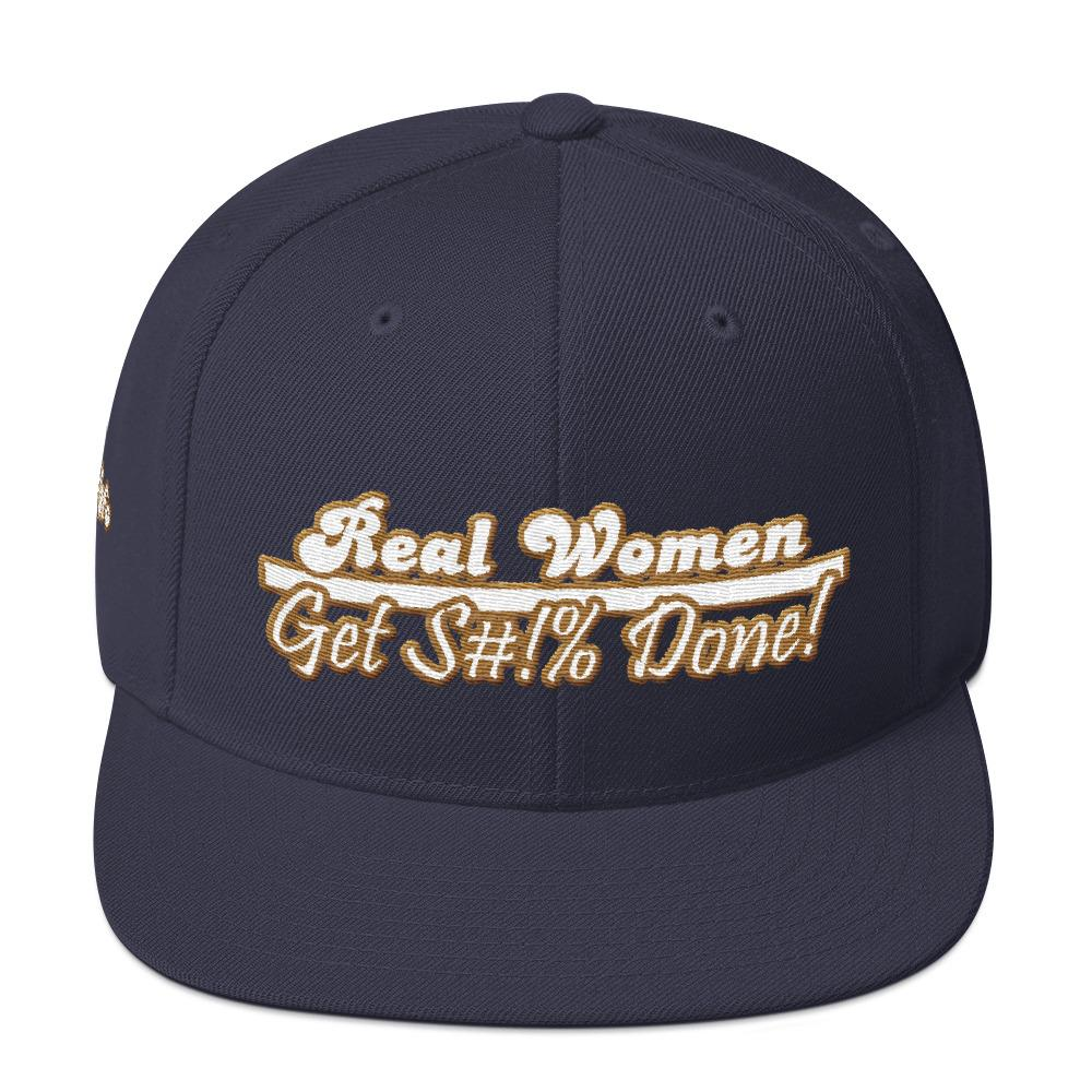 Real Women Get Stuff Done Snapback