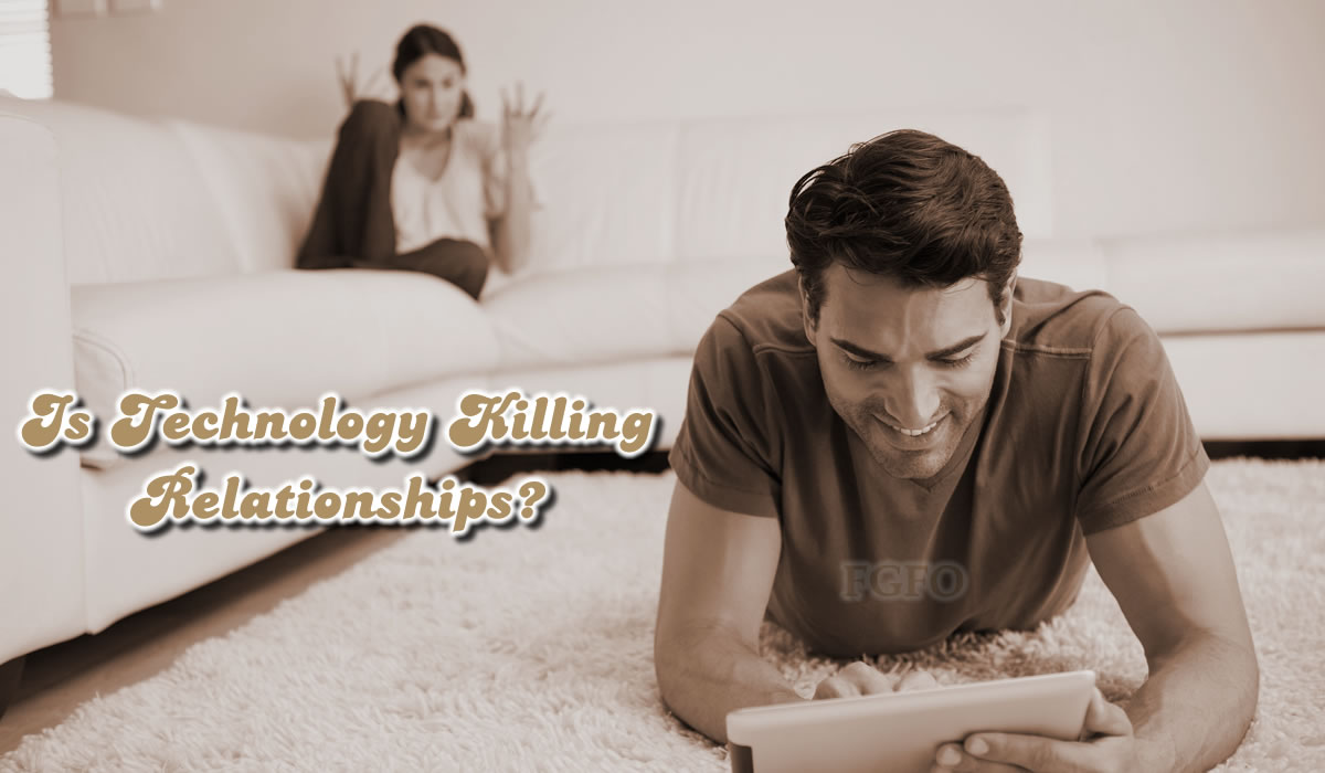 Is Technology Responsible For Insubstantial Relationships?