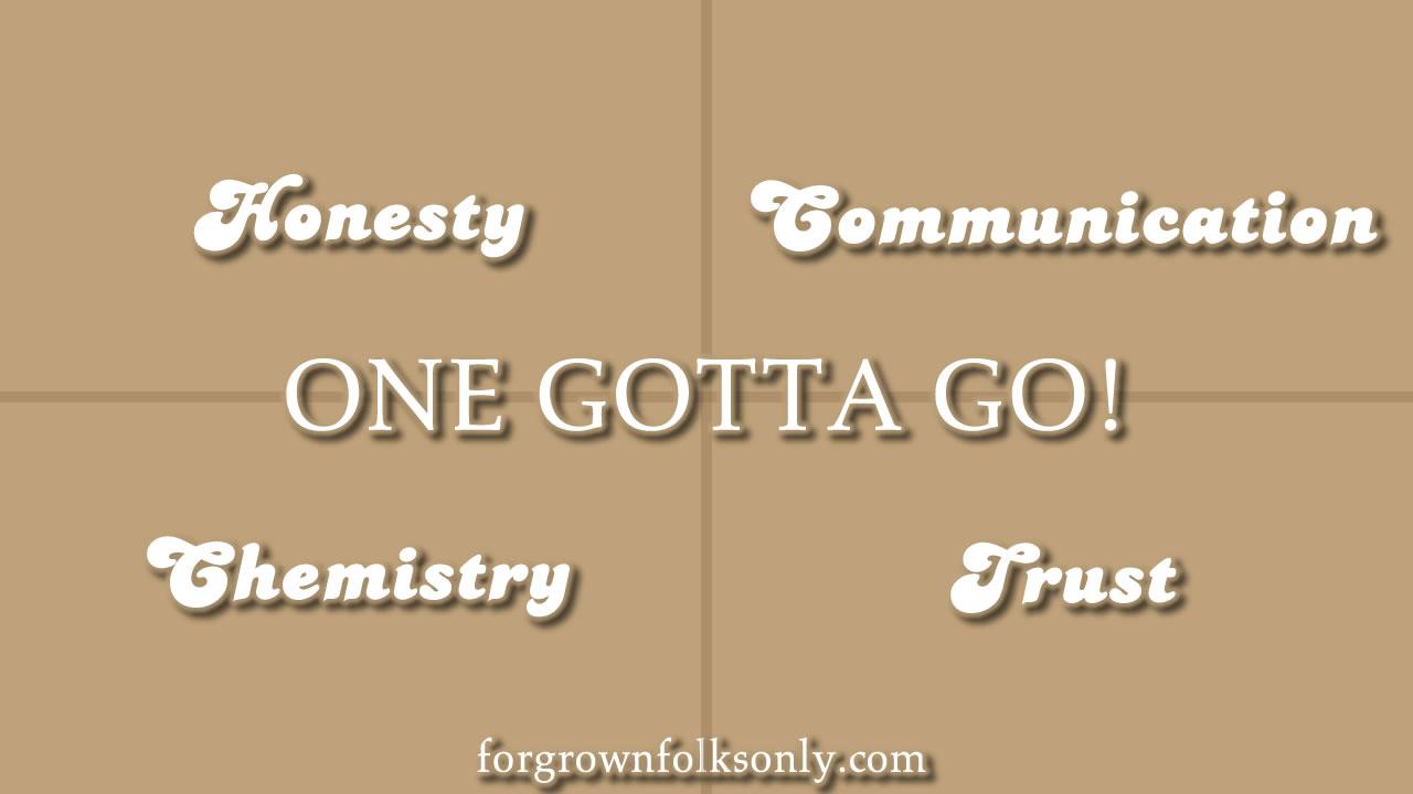 One Gotta Go (Relationship Choices)